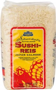 Schenkel Sushi-Reis Japan Calrose, Mittelkornreis