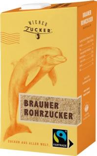 Wiener Zucker Fairtrade Brauner Rohrzucker Kristallin