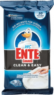 WC-Ente Clean & Easy Feuchte WC-Reinigungstücher