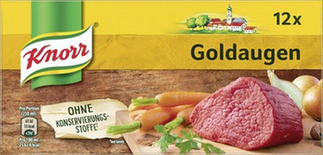 Knorr Goldaugen Rindsuppe, 12 Würfel