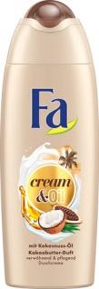Fa Cream & Oil Kokosnussöl & Kakaobutter-Duft, Duschcreme