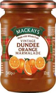 MacKays Vintage Dundee Orange Marmalade, Orangenmarmelade