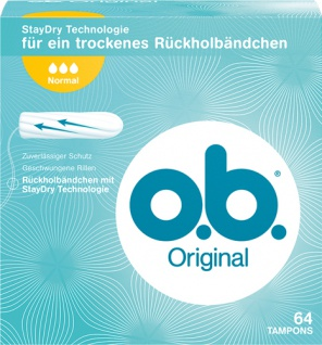 o.b. Original Normal Tampons