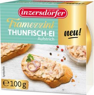Inzersdorfer Tramezzini Thunfisch-Ei, Aufstrich