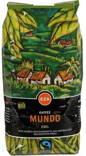 EZA Fairtrade Mundo Edel, Bio-Kaffee, Ganze Bohne