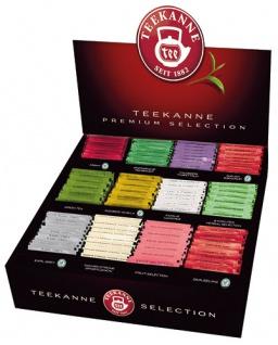 Teekanne Premium Selection SORTIMENTSBOX, 12 Sorten à 15 Teebeutel, Teebeutel im Kuvert
