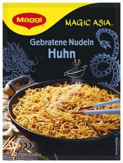 Maggi Magic Asia Gebratene Nudeln Huhn, 2 Portionen