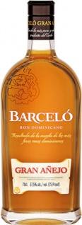 Barcelo Gran Anejo Rum, 37, 5 % Vol.Alk., Dominikanische Republik