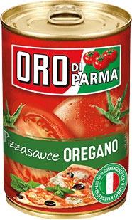 Oro di Parma Pizzasauce Oregano, gewürzte Tomatensauce