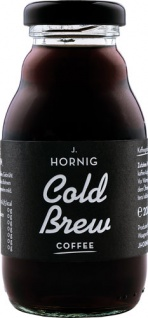 J. Hornig Cold Brew Coffee, Kaffeegetränk, Einweg, Glasflasche