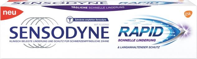 Sensodyne Rapid Schnelle Linderung, Zahncreme