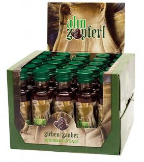 Bauer Alm Zapferl Zirben-Zauber, 35 % Vol.Alk., 25 x 20 ml
