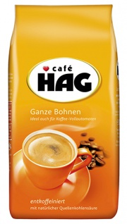 Café Hag entkoffeiniert, Ganze Bohne