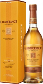 Glenmorangie Original Highland Single Malt Scotch Whisky, 10 Years, 40 % Vol.Alk., Schottland, im G