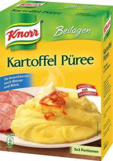 Knorr Kartoffelpüree, 3 x 3 Portionen