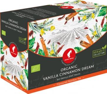 Julius Meinl Bio Vanille-Zimt-Traum Big Bag (1 Beutel für ca. 1 lt. Wasser), Rooibos-Tee, Teebeutel