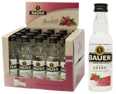 Bauer Styrian Panther Spirit Himbeer-Geist, 38 % Vol.Alk., 20 x 40 ml