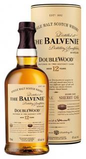 Balvenie DoubleWood Single Malt Scotch Whisky 12 Years, 40 % Vol.Alk., Schottland, in Geschenkdose