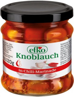 Efko Knoblauch in Chili-Marinade