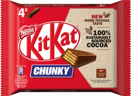 KitKat Chunky Classic, 4er Packung