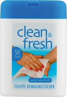 Clean & Fresh Feuchte Reinigungstücher