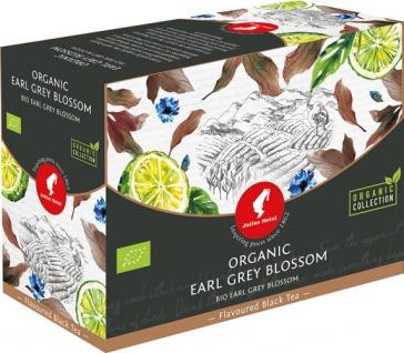 Julius Meinl Bio Earl Grey Blossom Big Bag (1 Beutel für ca. 1 lt. Wasser), Schwarztee, Teebeutel i