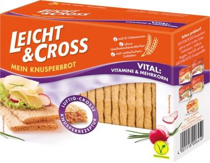 Leicht & Cross Vital Vitamine & Mehrkorn, Knusperbrot