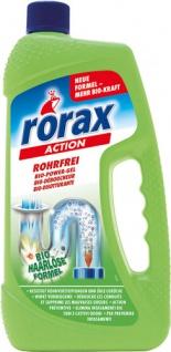 Rorax Action Rohrfrei BIO Power-Gel, Abflußreiniger
