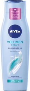 Nivea Volumen & Kraft Mildes Shampoo pH-Balance, für feines oder plattes Haar