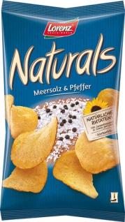 Lorenz Naturals, Chips mit Meersalz & Pfeffer