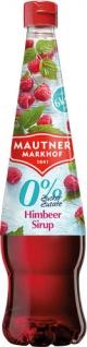 Mautner Markhof 0 % Zucker Himbeer-Sirup, ohne Zuckerzusatz, PET