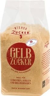 Wiener Zucker Gelbzucker nach Wiener Art