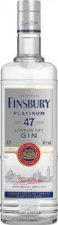 Finsbury 47 Platinum London Dry Gin, six times distilled, 47 % Vol.Alk.
