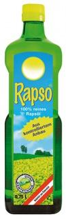 Rapso 100 % reines österreichisches Rapsöl aus kontrolliertem Anbau