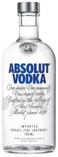 Absolut Vodka, 40 % Vol.Alk., Schweden