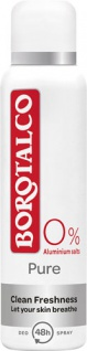 Borotalco Pure Clean Freshness, 48h Deo Spray, 0 % Aluminiumsalze