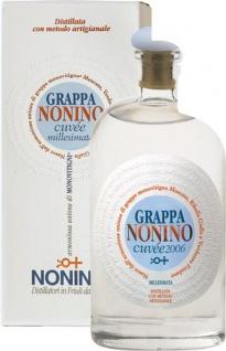 Nonino Grappa Monovitigno Cuvée Millesimata, 40 % Vol.Alk., im Geschenkkarton