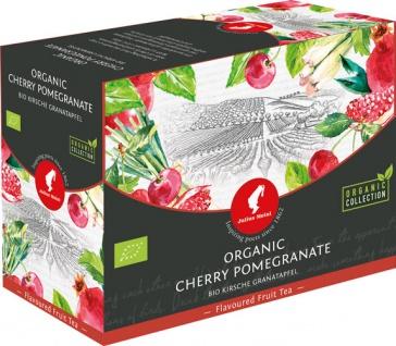 Julius Meinl Bio Kirsche-Granatapfel Big Bag (1 Beutel für ca. 1 lt. Wasser), Früchtetee, Teebeutel