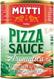 Mutti Pizzasauce Aromatica, mit Oregano & Basilikum
