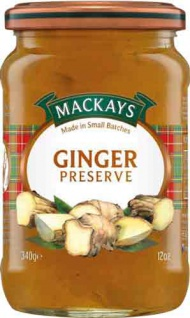 MacKays Ginger Preserve, Ingwermarmelade