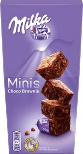 Milka Minis Choco Brownie, einzeln verpackt