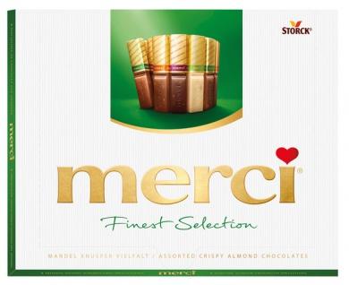 Merci Finest Selection Knusper Vielfalt, 20 Stück