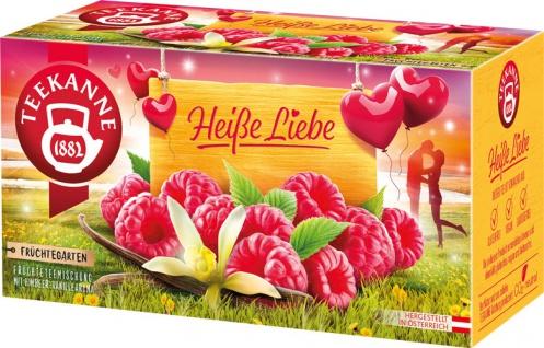 Teekanne Früchtegarten Heiße Liebe, Teebeutel im Kuvert