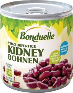 Bonduelle Kidney Bohnen (rote Bohnen), verzehrfertig
