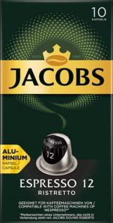 Jacobs Espresso Ristretto 12, Nespresso-kompatibel, 10 Kaffeekapseln