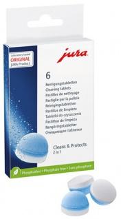 Jura Reinigungstabletten 2in1 Cleans & Protects, phosphatfrei