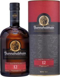 Bunnahabhain Islay Single Malt Scotch Whisky 12 Years, 46, 3 % Vol.Alk., Schottland, in Geschenkdose