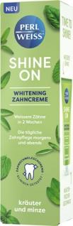 Perlweiss Shine On Kräuter und Minze, Whitening-Zahncreme