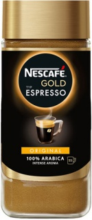 Nescafé Gold Espresso Intense Aroma, 100 % Arabica, Löskaffee