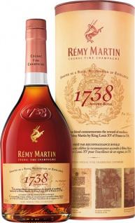 Rémy Martin 1738 Accord Royal Cognac, 40 % Vol.Alk., in der Geschenkdose